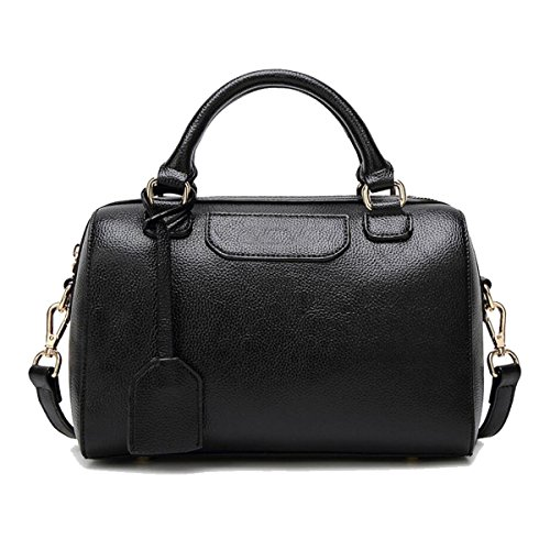 Bag Black Zhi Leather Messenger soft Handbag Pu Boston Wu Shoulder Ladies Wild RIdIPq