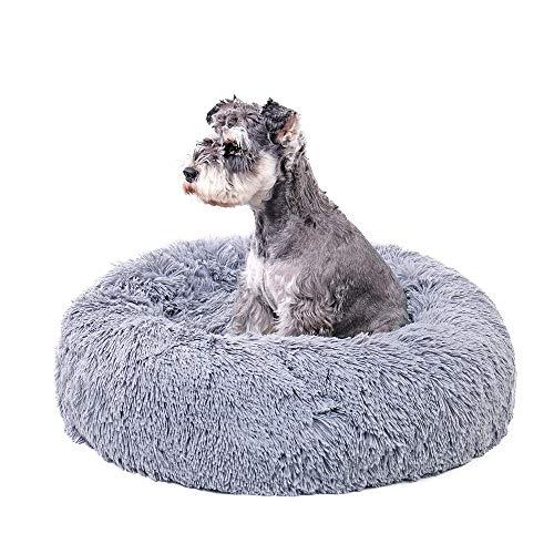 (Speedy Pet Ultra Soft Dog Cat Beds Puppy Kitten Cozy Sleeping Cushion Mat Round Bed,Machine Washable M)