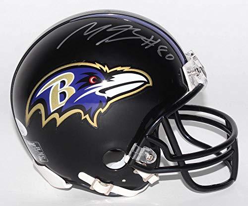 Authentic Miles Boykin Autographed Signed Baltimore Ravens Mini Helmet (JSA COA)