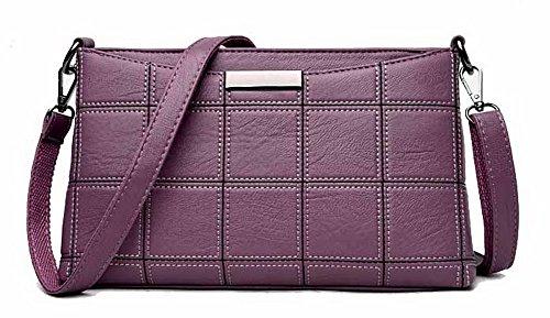 Violet fourretout Bandoulière TSFBH180669 Cartable PU Cuir Achats Sacs à Sacs Femme AalarDom awHBFq