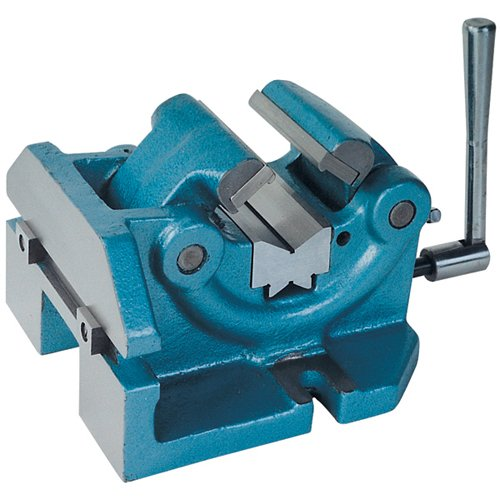 TTC Vise For Holding Round Work & Shaft - Model : VFRS Jaw Width: 4'' Jaw Opening: 2-1/2''