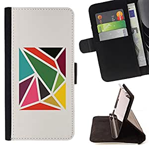 Jordan Colourful Shop - pattern abstract minimalist For Apple Iphone 5C - Leather Case Absorci???¡¯???€????€?????????&Atil