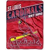 """St. Louis Cardinals 60"""" x 80"""" Oversized Micro Raschel Throw Blanket"""