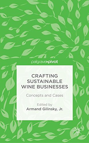 Crafting Sustainable Wine Businesses: Concepts and Cases by Palgrave Pivot