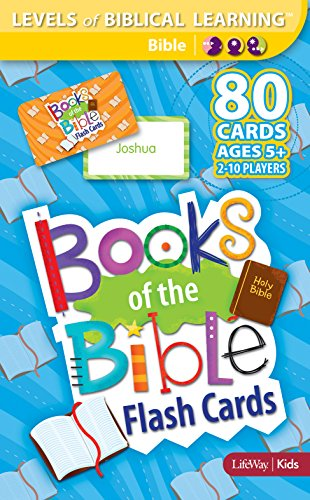 Levels of Biblical Learning: Flash Cards - Books of the Bible