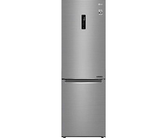 LG GBB61PZHZN nevera y congelador No Frost Independiente Acero ...