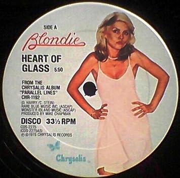 98816fd568bf BLONDIE - HEART OF GLASS 12 INCH LP - Amazon.com Music