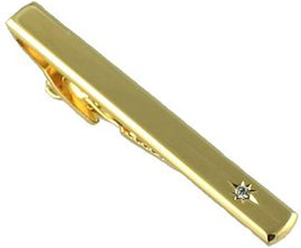 Bannana Yellow Fruit Gold-tone Cufflinks Crystal Tie Clip Gift Set