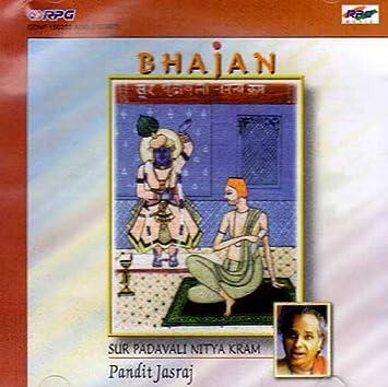 Pandit Jasraj - Sur Padavali Nitya Kram - Bhajan (Audio CD