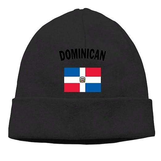 Amazon.com  GDSG5 4 Dominican Flag Men Women Thick Sports Beanie ... 61d70f0edd