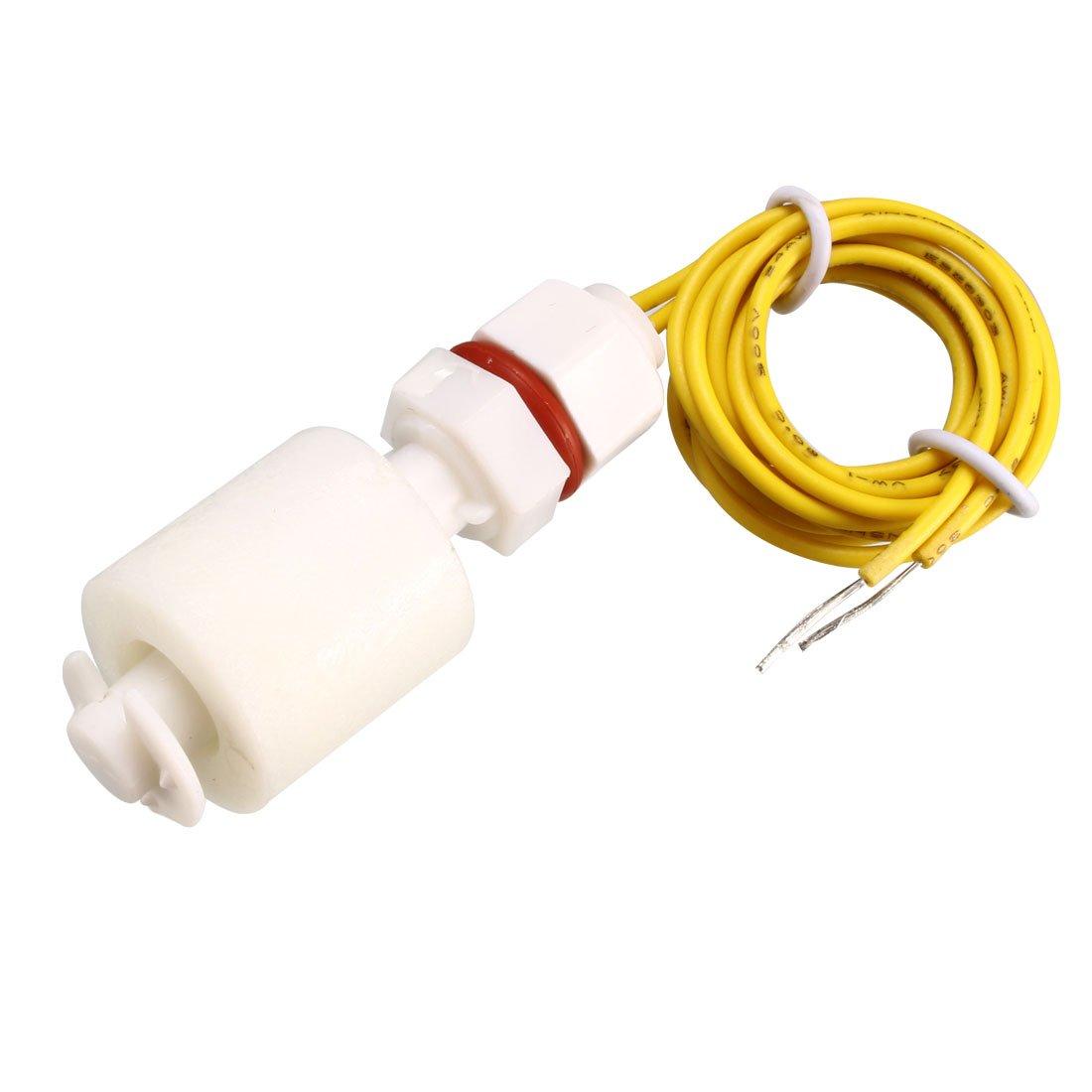 sourcing map Interruptor de flotador M8 46mm pecera líquido Vertical Sensor de nivel de agua 2 piezas PP: Amazon.es: Bricolaje y herramientas
