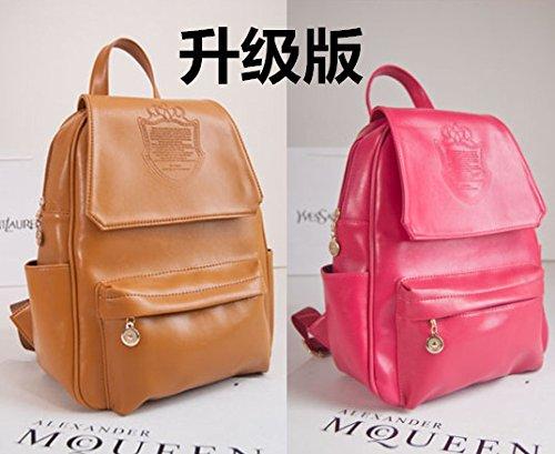 AnnaSue 2015 neue Welle von Damenhandtaschen Hochschule Wind Korean casual Schultertasche PU-Leder Rucksack einfachen Reisetaschen