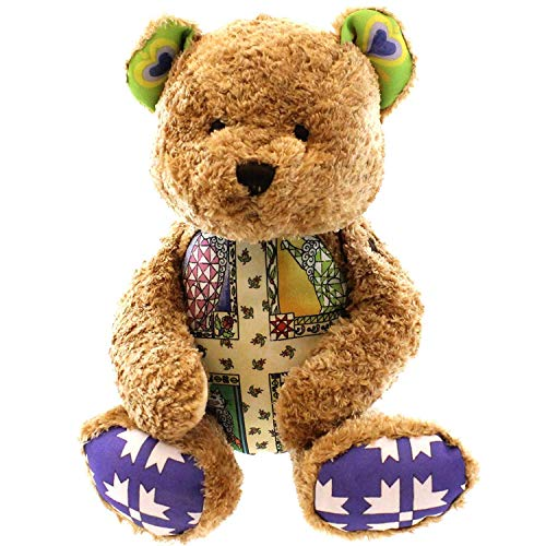 Boyds Bears Plush WHISKERS Fabric Jim Shore Teddy Bear 9200607 (Bears Shore)