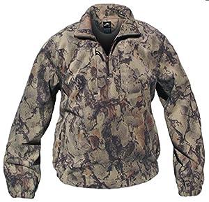 Amazon.com : Natural Gear Camo Fleece Pullover Hunting Shirt ...