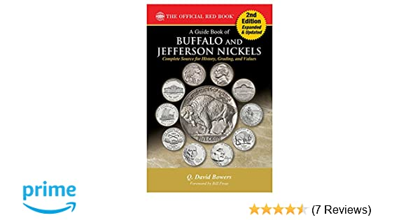 NEW WHITMAN OFFICIAL RED BOOK BUFFALO /& JEFFERSON NICKELS BOOK Q DAVID BOWERS