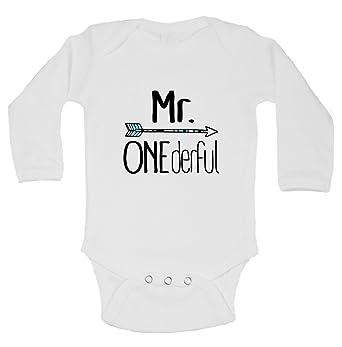646733fa5e460 Amazon.com: Cute 1st Birthday Kids Onesie
