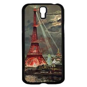 Colorful Paris Art Hard Snap on Phone Case (Galaxy s4 IV)
