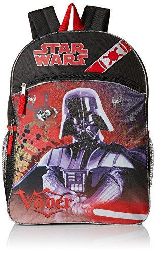 Fast Forward Children's Apparel Disney Boys' Darth Vader Backpack Comfortable Wear, Black price tips cheap