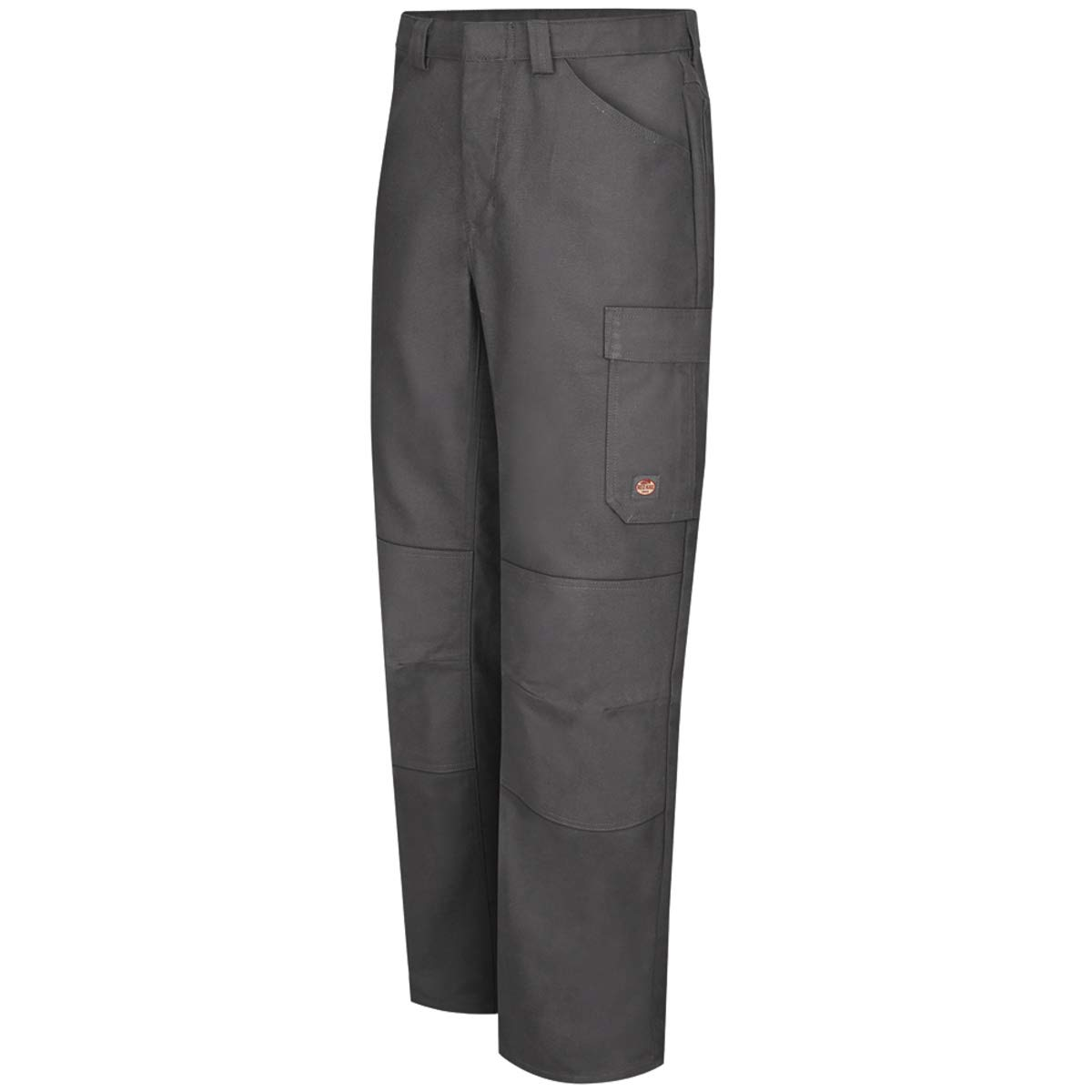 Red Kap 40'' X 32'' Charcoal 8 Ounce Polyester/Cotton/Spandex Pants With Button Closure