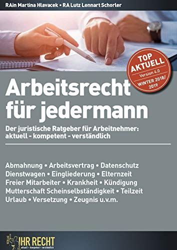 Arbeitssrecht Für Jedermann Der Juristische Ratgeber Für