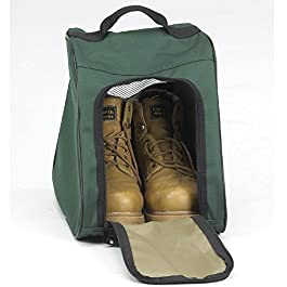 Ducksback Heavy Duty breathable Boot Bag Case Walking, Hiking, Work or Military Boots (Green)