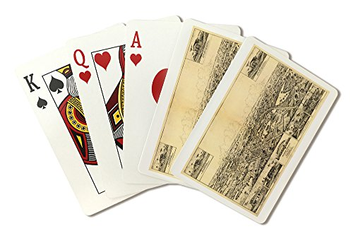 Longwood, Florida - Panoramic Map (Playing Card Deck - 52 Card Poker Size with Jokers)