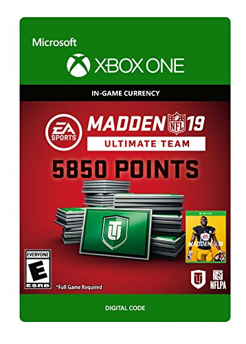 Used, Madden NFL 19: MUT 5850 Madden Points Pack - Xbox One for sale  Delivered anywhere in USA