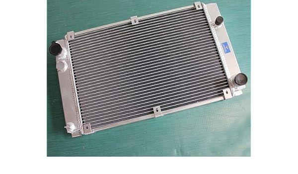 Fit PORSCHE 944 2.5L TURBO S2 3.0L NA M//T 1985-1991 ALUMINUM RADIATOR 56MM