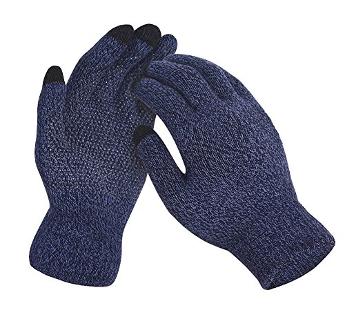 Glo Mittens - Touch Screen Knitted Non-slip Gloves Unisex Soft Woolen Winter Gloves Mittens