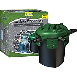 TetraPond Bio-Active Pressure Filter, For Ponds Up to 1500 Gallons