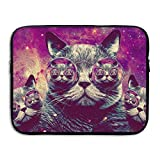 Laptop Sleeve Bag Space Cats Cover Computer Liner Package Protective Case Waterproof Computer Portable Bags