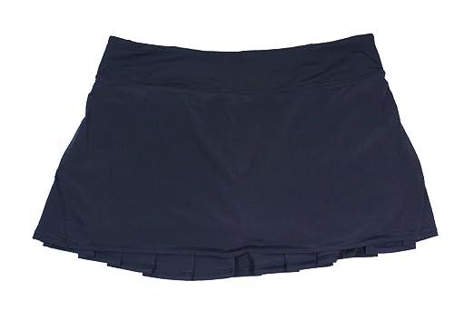 Amazon Lululemon Black Pleated Run Pace Setter Tennis Skirt