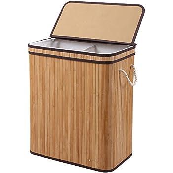 Amazon Com Finnhomy Laundry Basket Divided Laundry Hamper