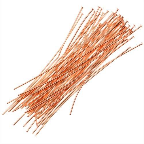 50-PieceHeadPins,22-Gauge,1.5-Inch,Copper