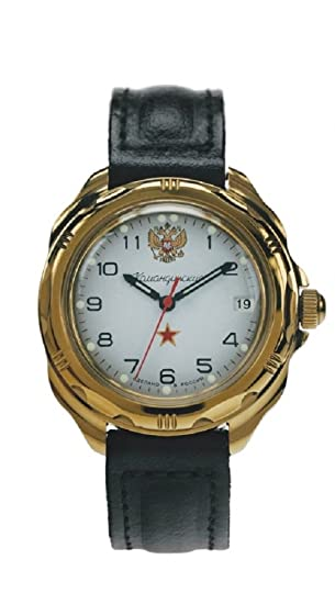 Vostok ruso de las fuerzas especiales militares KOMANDIRSKIE reloj blanco 219322/2414 a: Vostok: Amazon.es: Relojes