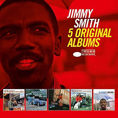 CD : Jimmy Smith - 5 Original Albums (Boxed Set, 5PC)