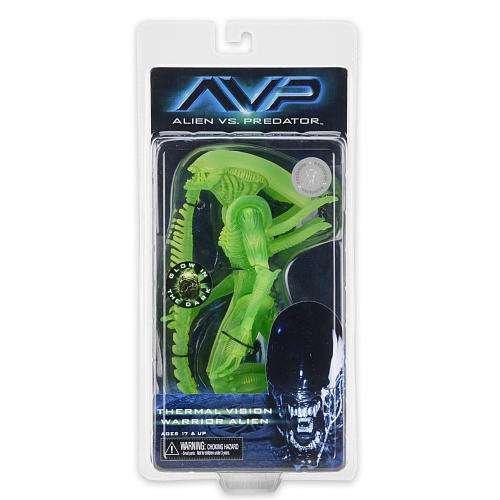 Alien vs. Predator 51623 Bluetooth Warrior Warrior Warrior Thermo Vision Glow in the Dark Figur 54190f