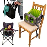 Airtushi - Fully Soft & Padded Inflatable Travel High Chair