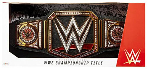 WWE Wrestling Authentic Replica World Heavyweight Championship Championship Belt ()