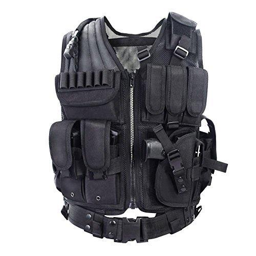 YAKEDA Army fans Tactical Vest CS Field Outdoor Equipment Supplies...
