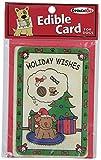 Crunchkins Crunch Edible Card, Happy Holidays