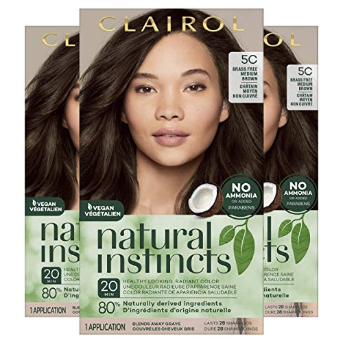 Clairol Natural instincts Permanent Hair Color, 5C