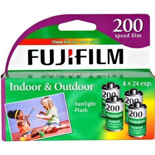 (FujiFilm ISO 200 35mm Color Print Film 24 Exposures (8 Pack))