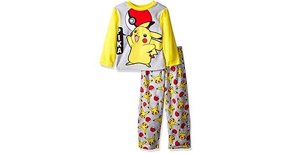 Amazon.com: Pokemon Pikachu - Juego de 2 piezas de pijama de ...