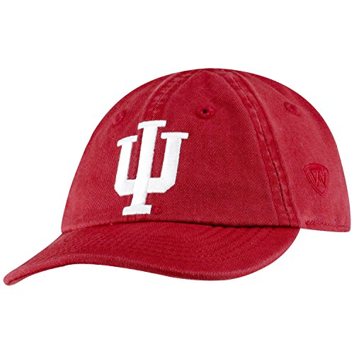 Top of the World Indiana Hoosiers Infant Hat Icon, Cardinal, Adjustable