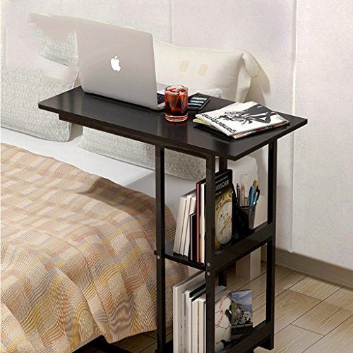 Mesa Multifuncional/mesita de Noche para Laptop/Escritorio de computadora portátil/para Dormitorio con sofá Cama, balcón,...