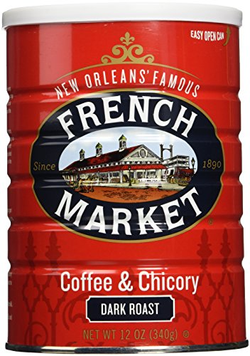 French Market Coffee Chicory 12 ounce