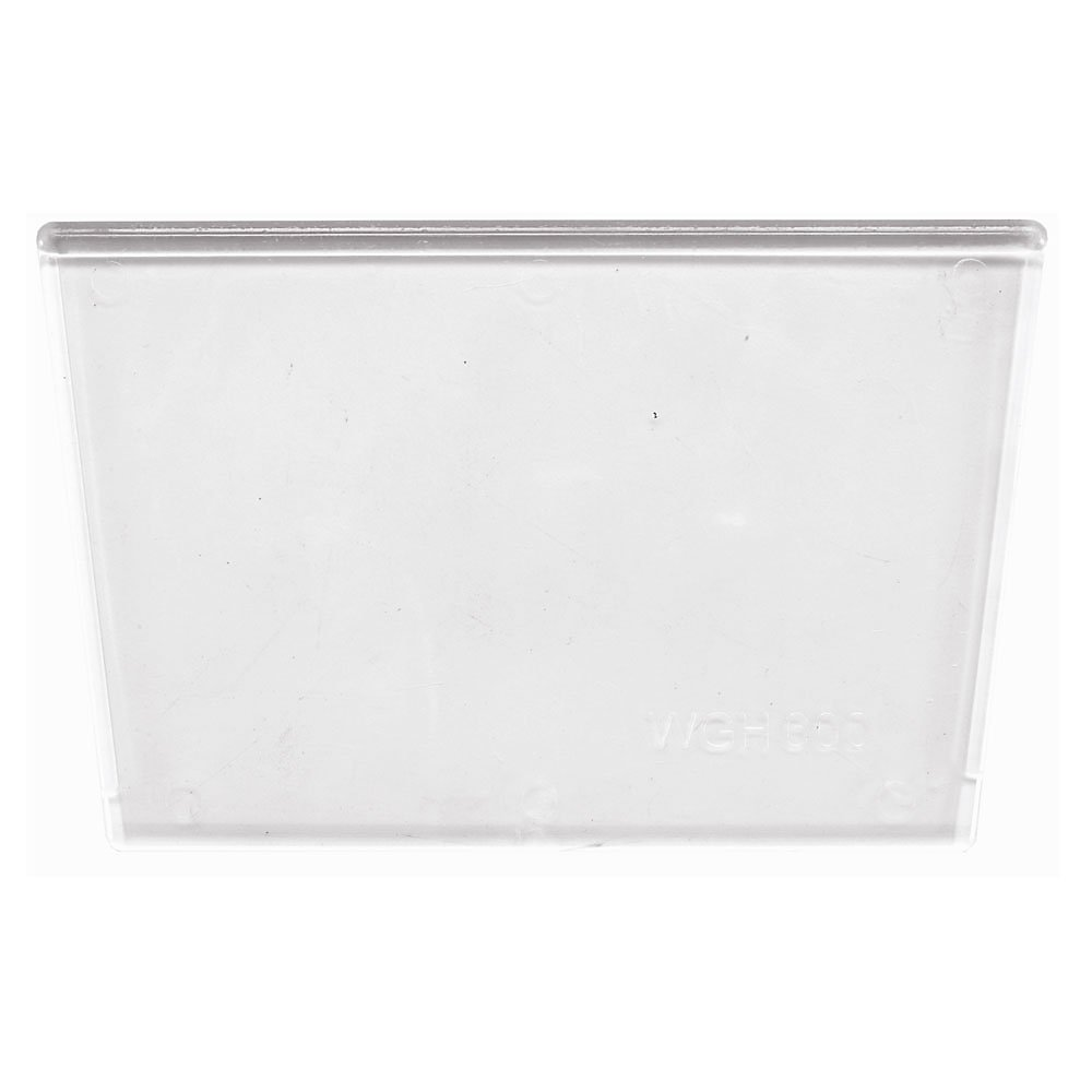 QUANTUM Clear Windows for Giant Stacking ClearView Bins - 7-1/4''Wx4-1/2''H