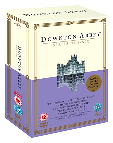 Downton Abbey - Series 1-6 (51 Episodes) - 23-DVD Box Set ( Downton Abbey (Series One - Six) ) [ NON-USA FORMAT, PAL, Reg.2.4 Import - United Kingdom ]