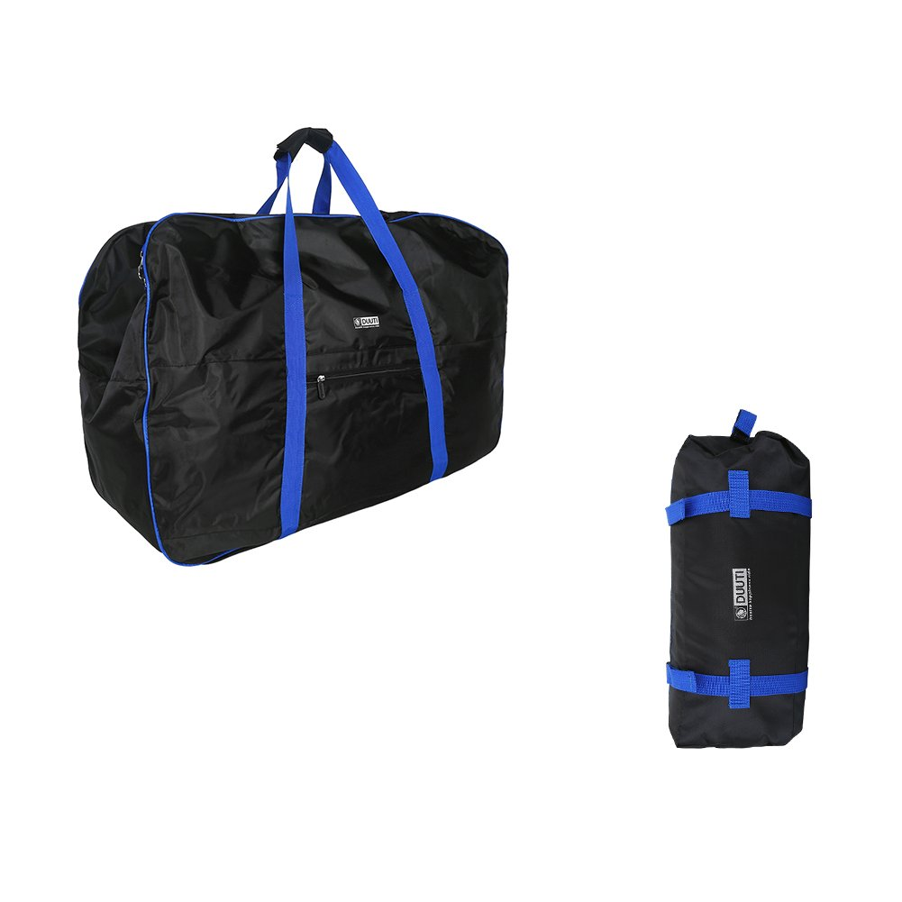 VGEBY Bike Travel Cases Transport Carrying Bag with Saddle Bag for 14-20 inch Foldable Bicycle by VGEBY (Image #2)